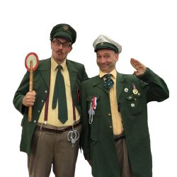 Tébé & Leiste Polizisten