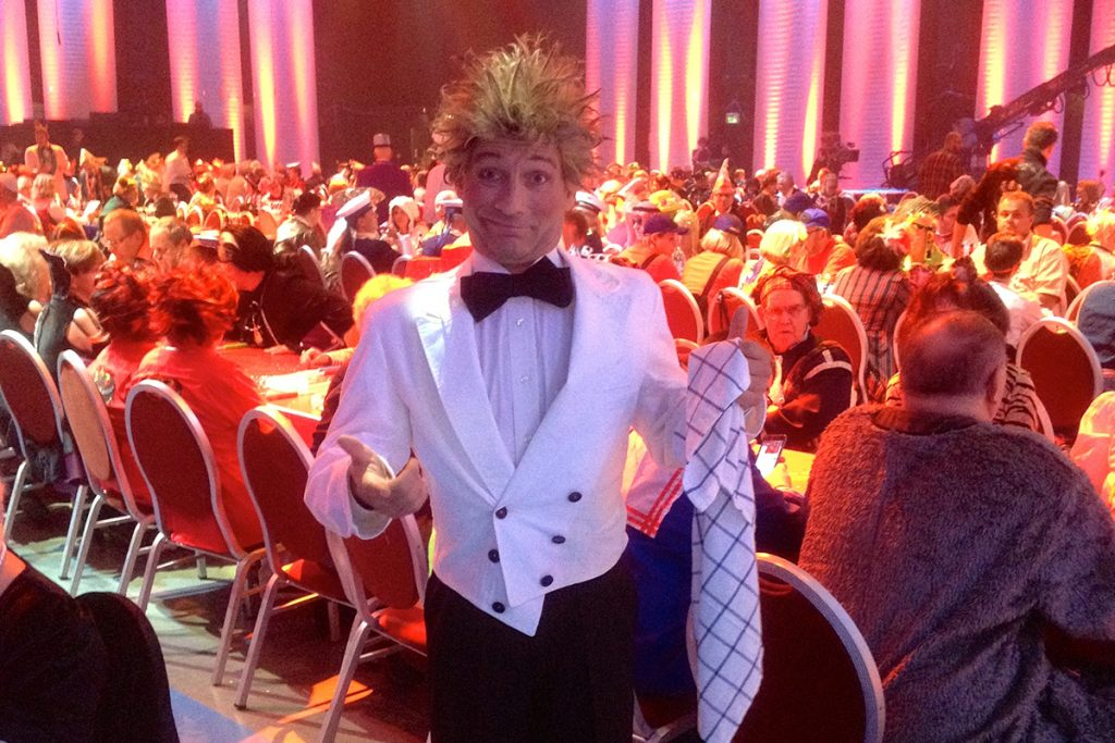 ZDF Karnevalissimo Comedy Kellner Georg Leiste