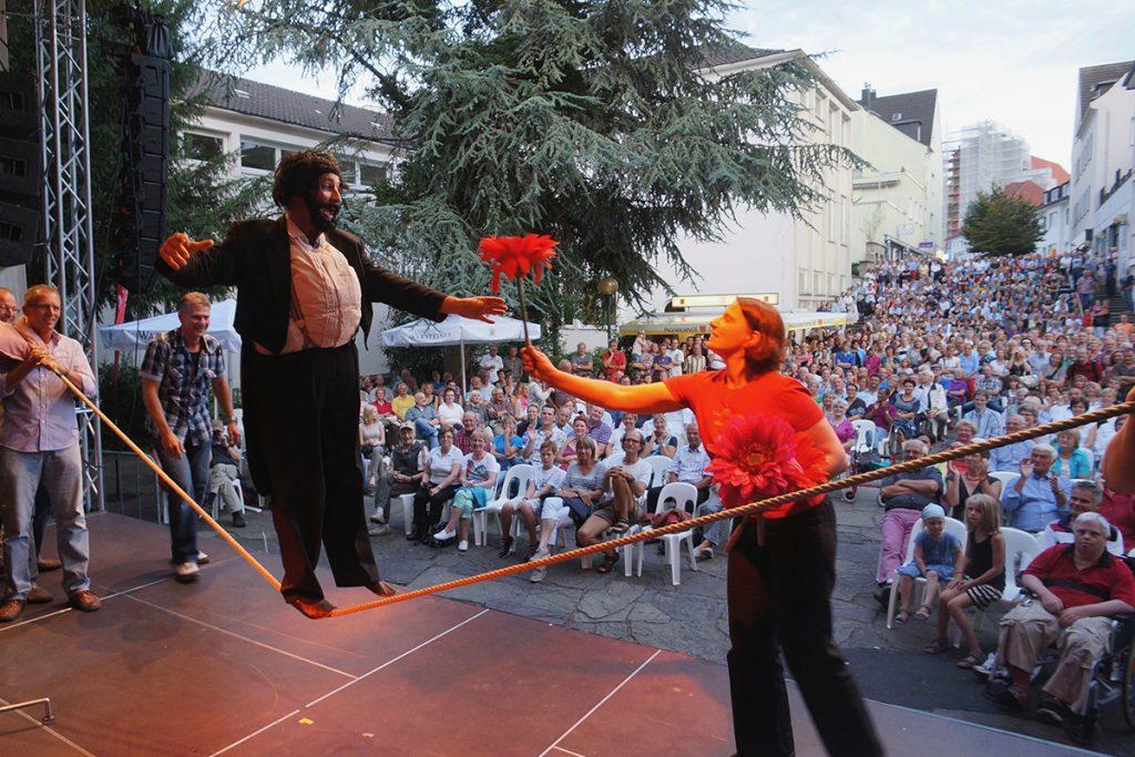 Paderborn Libor Festival, Auftritt des Comedians Georg Leiste