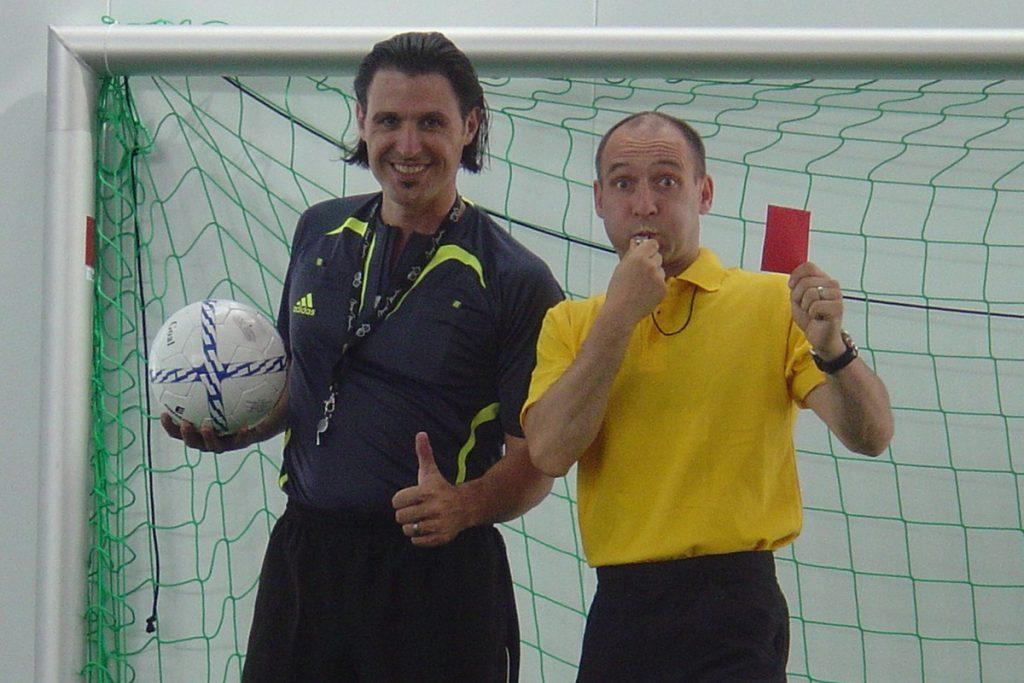 Fussball-Event mit dem Comedy-Duo Tébé & Leiste