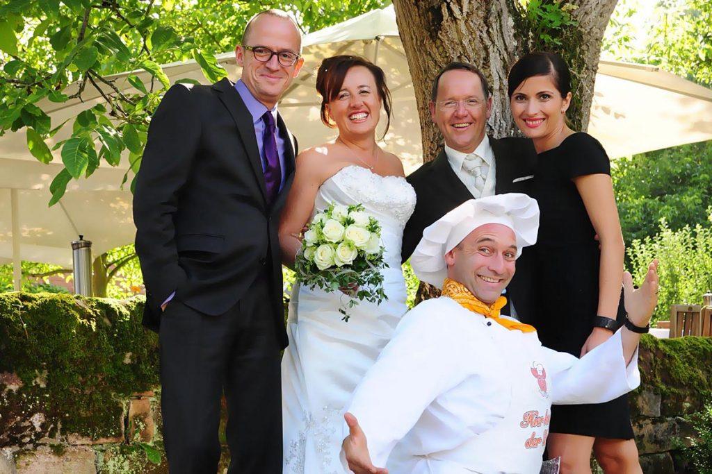 Hochzeit mit Georg Leiste Walking Act Koch