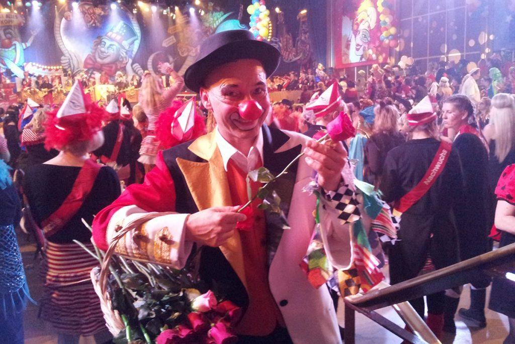 ZDF Karnevalissimo Clown Georg Leiste