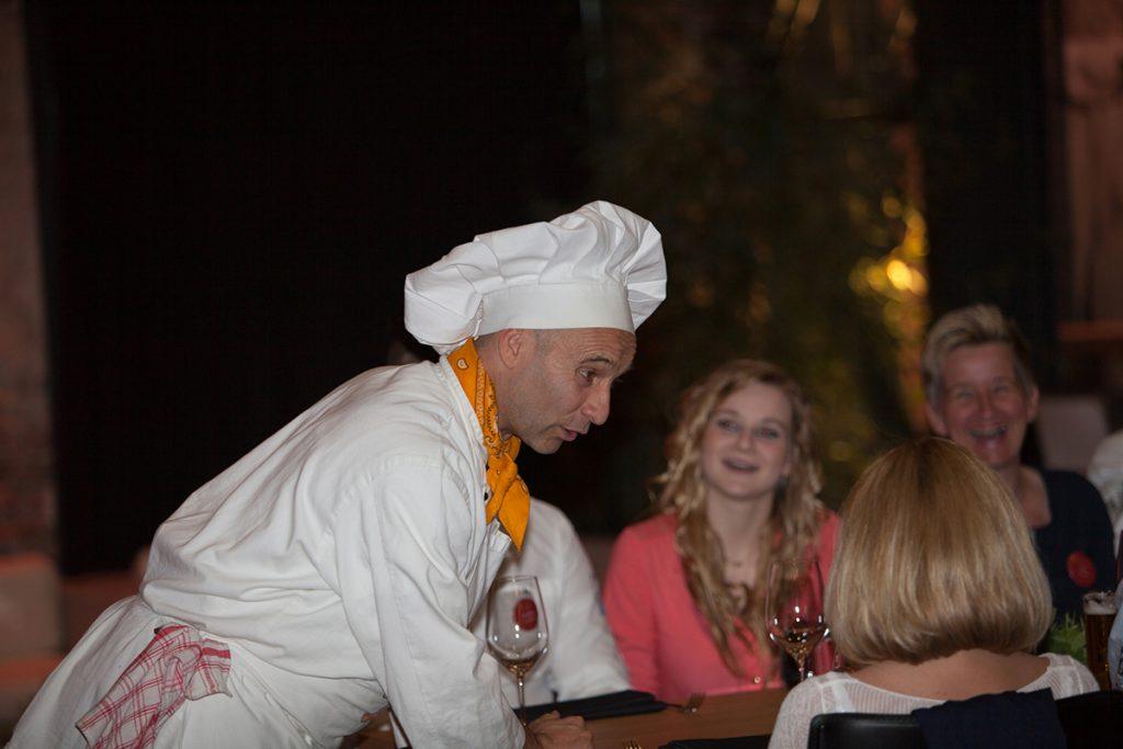 Kochshow mit Georg Leiste Firmenfeier