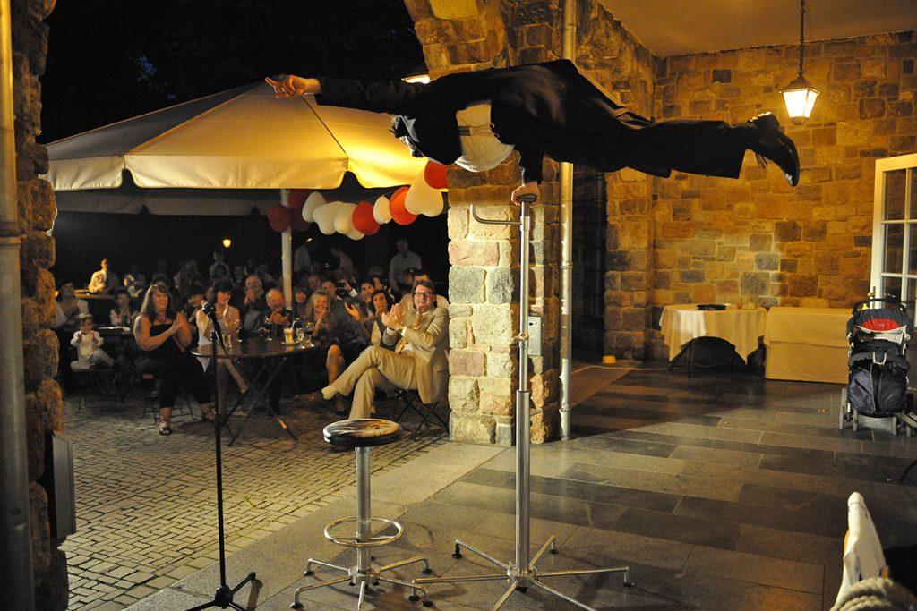 Sommerfest Viva Italia mit Komiker Georg Leiste