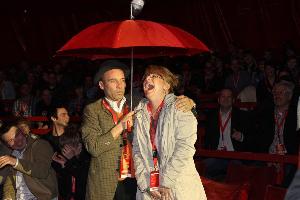 Circus Roncalli Comedian Georg Leiste