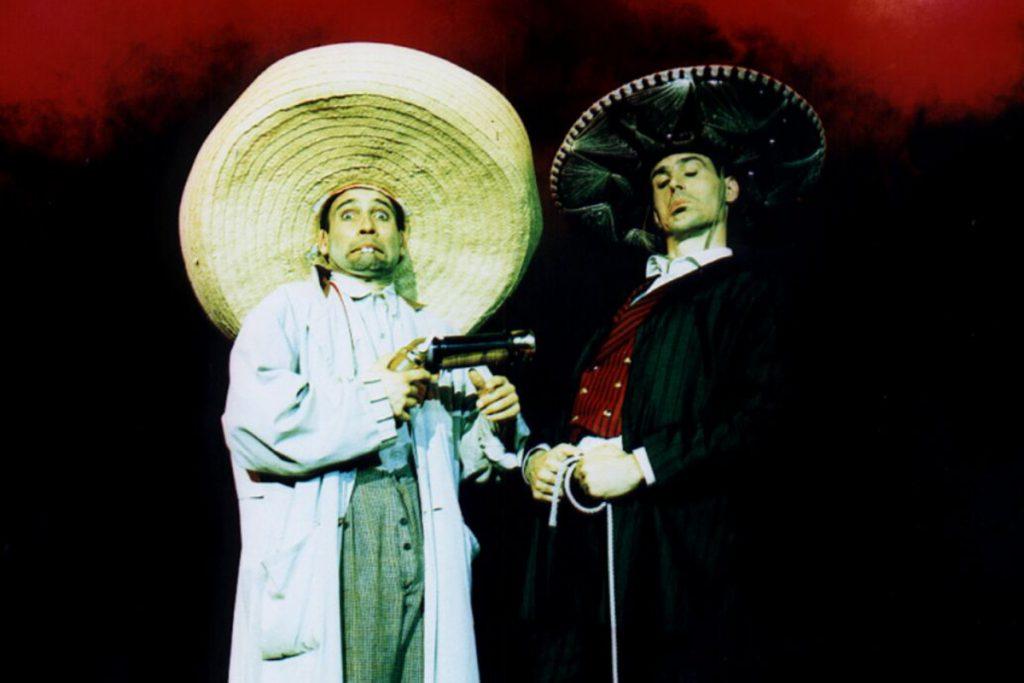 2 Männer und ein Pferd Western Tébé & Leiste