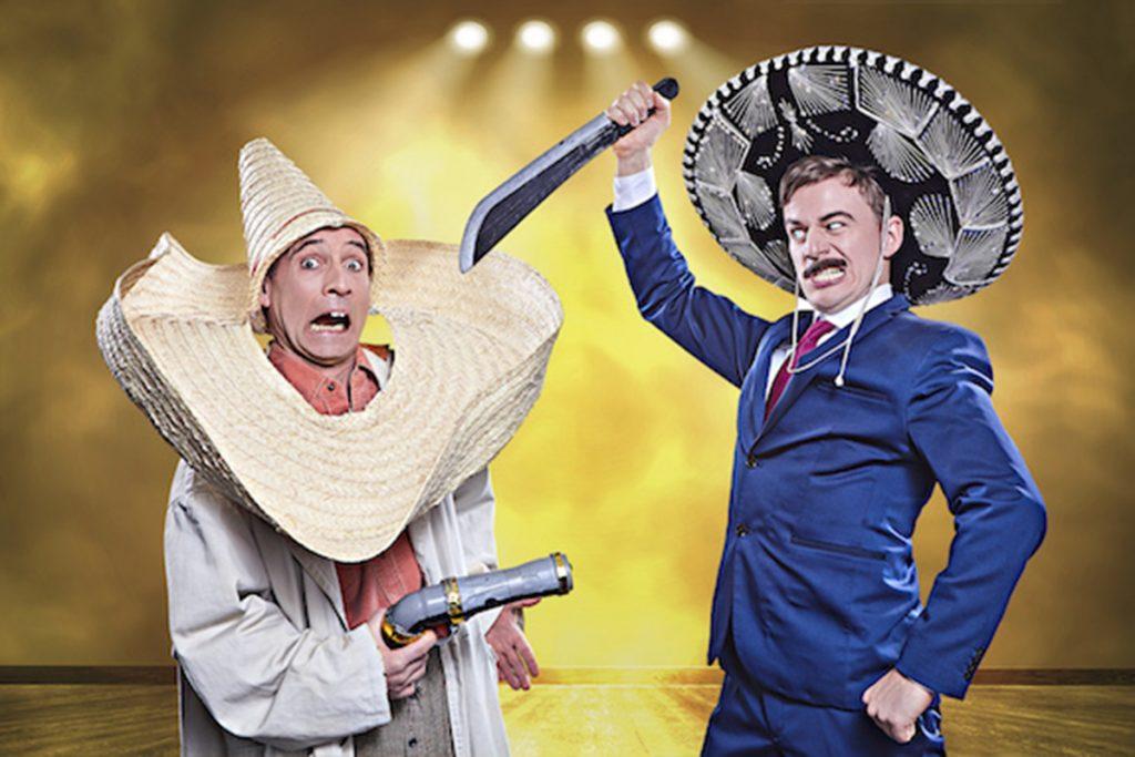 Comedy Western-Show Tébé & Leiste