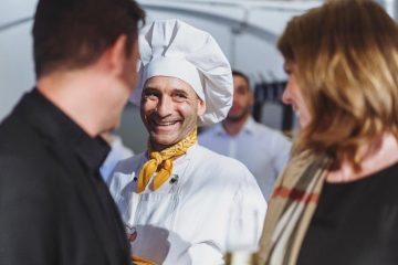 Künstler Georg Leiste Geburtstagsfeier