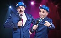 "Comedy Künstler Duo ""Tébé & Leiste"""